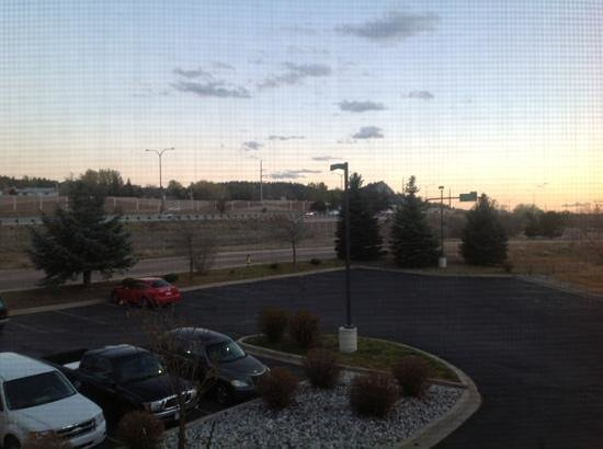 Comfort Inn North - Air Force Academy Area: interstate is right there