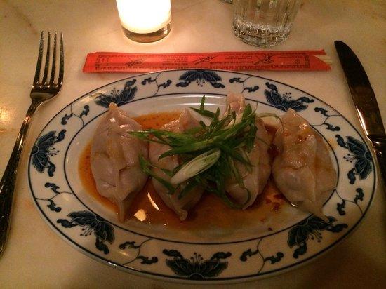 Macao Trading Co : chicken & pork belly dumplings steamed