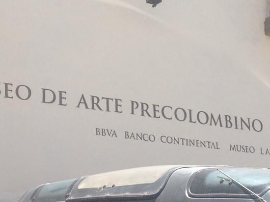 Museo de Arte Precolumbino : museo de arte precolombino Cuzco
