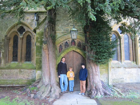 St. Edward's Church: the doors everyone talks about!