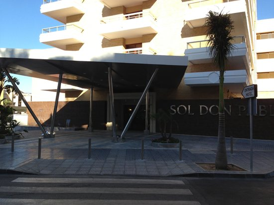 Sol Don Pablo by Meliá : Front of hotel