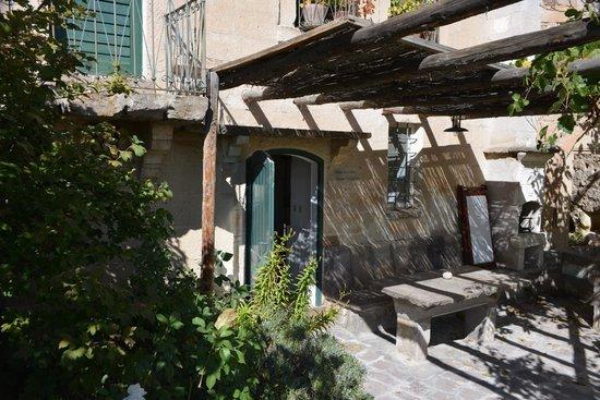 Les Maisons de Cappadoce : patio