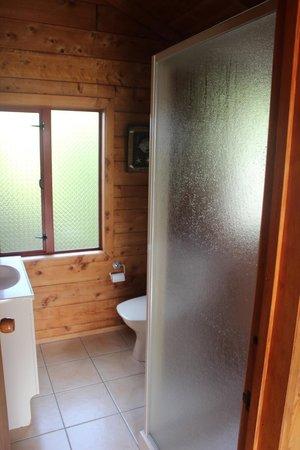 Abel Tasman Ocean View Chalets: Bathroom