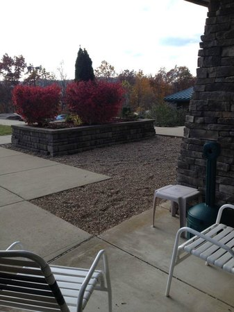 Chief Logan Lodge & Conference Center: Patio, Executive King Room