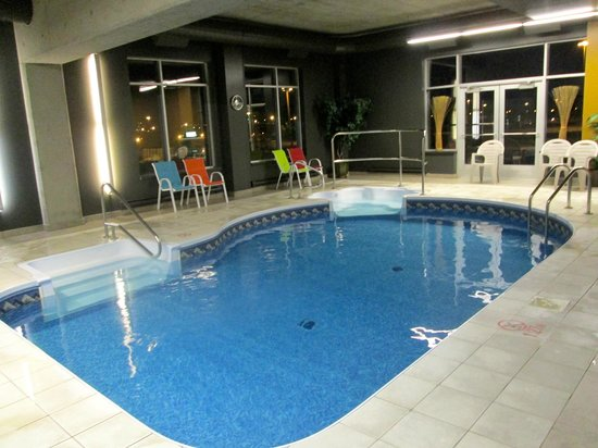 Grand Hôtel TIMES : small indoor swimming pool