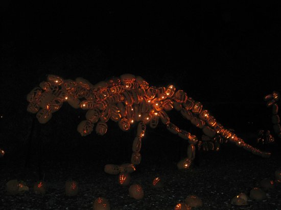 The Great Jack-O-Lantern Blaze : t-rex