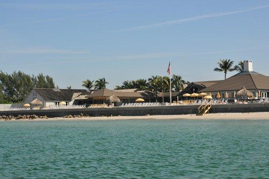 Gasparilla Inn Club Beach From The Gulf