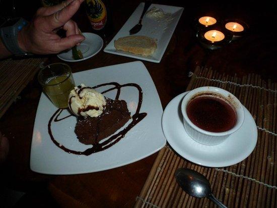 Shambala : Dessert was equally as delicious. Dos Pinos ice cream is sooo good!