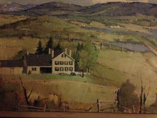 Butternut Lane Bed and Breakfast : Painting of the Inn