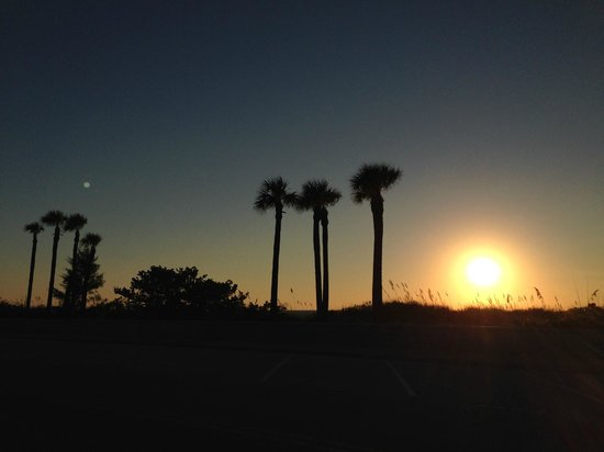 Sabal Palms Inn: Lovely sunsets every night.
