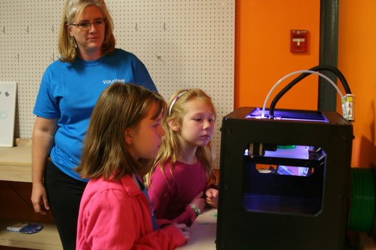 The Muse Knoxville: 3D Printer - awesome technology
