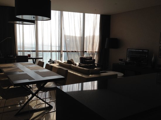 Jumeirah at Etihad Towers: Room with a view