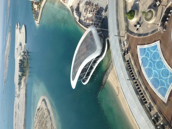 Jumeirah at Etihad Towers: Typical room view