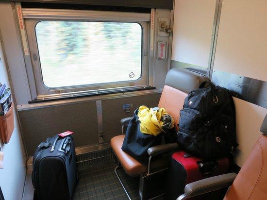 VIA Rail Canada: cabin for two