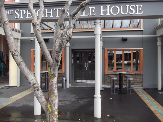 Speights Ale House: The front