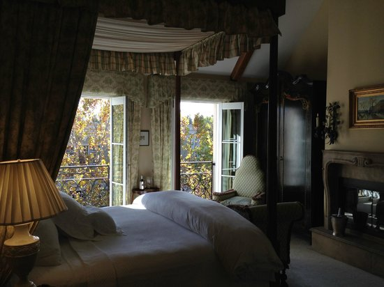 Hotel Les Mars, Relais & Chateaux: windows open