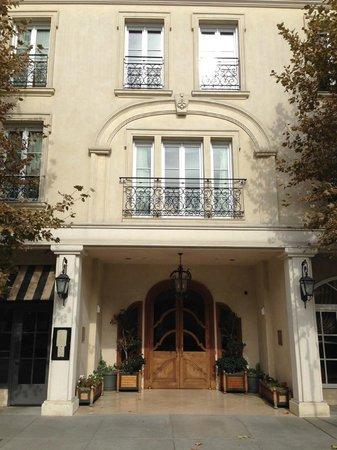 Hotel Les Mars, Relais & Chateaux: hotel front