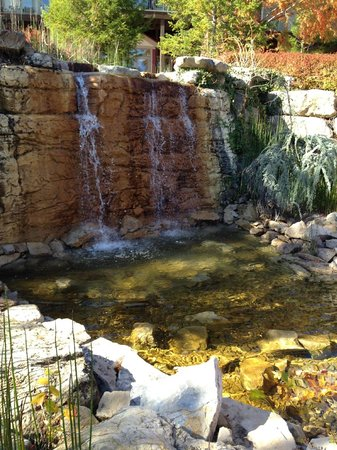 Marriott's Willow Ridge Lodge: Gorgeous waterfall on the property