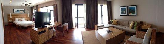 The Taaras Beach & Spa Resort : Gorgeous room