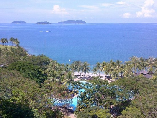 Sutera Harbour Resort (The Pacific Sutera & The Magellan Sutera): View from Club Lounge