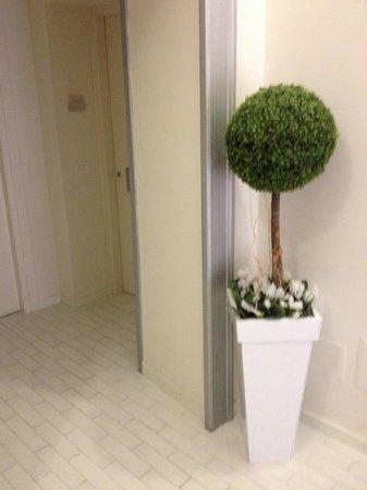 Palazzo Tasso: Entrada a la habitación