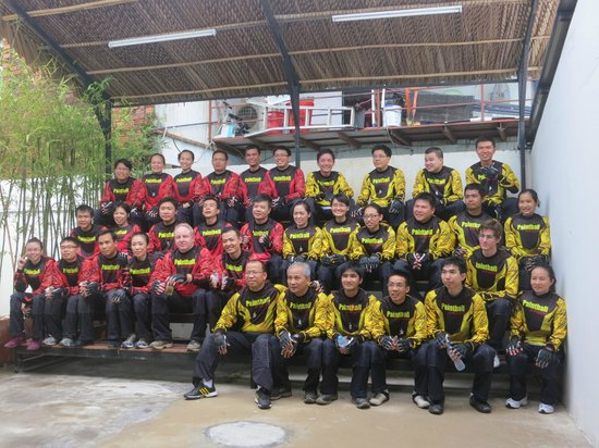 Paintball Saigon : During the pre-game briefing session