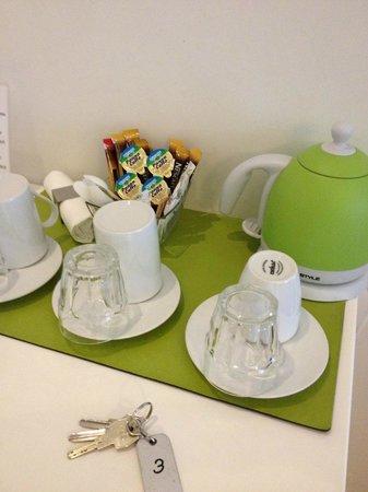 A Peace of Rome: Café/té disponible en la habitación