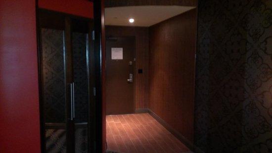 Hard Rock Hotel and Casino Tulsa: Entry area