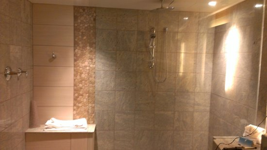 Hard Rock Hotel and Casino Tulsa: Shower