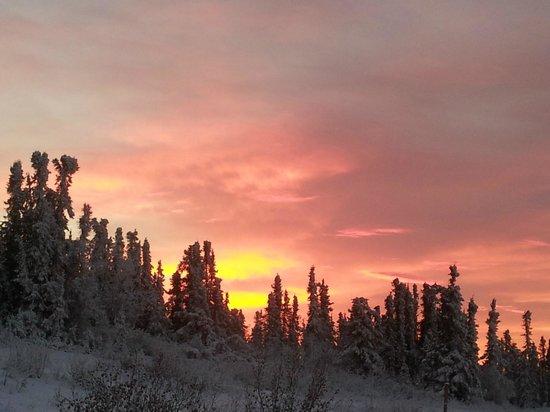 Mount Aurora Lodge : Sunrise