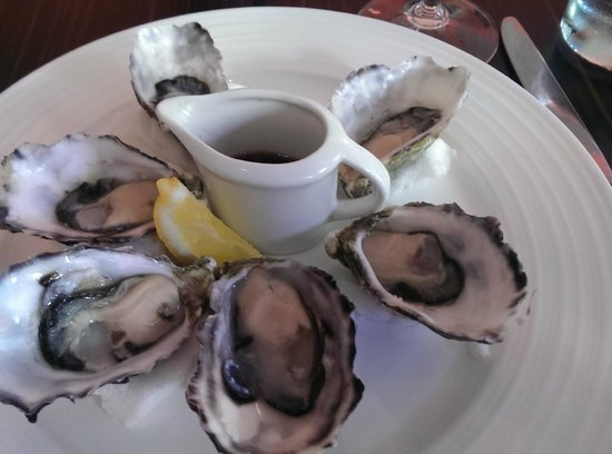 RockSalt Modern Dining: Oysters with mignonette dressing