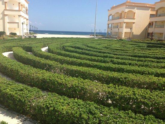 Heaven en Hard Rock Hotel Riviera Maya: The maze.