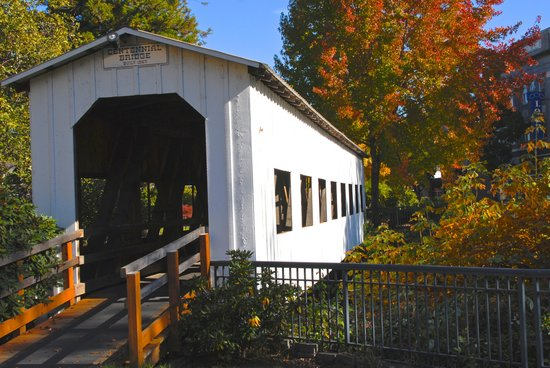 Cottage Grove Covered Bridge Tour Route: Centennial