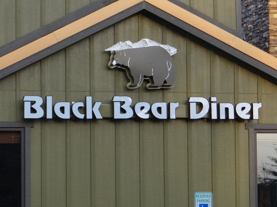 Black Bear Diner : Back Side
