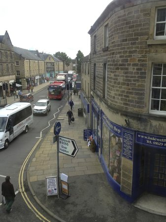 Rutland Arms Hotel Bakewell : View from Room 3