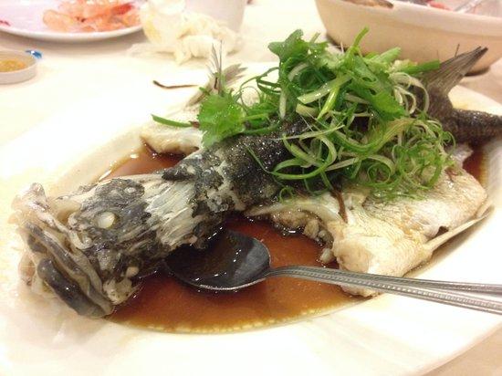 Ah Yat Seafood: Steam Fish