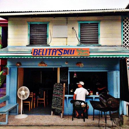 Belita's Deli : Belita's store front
