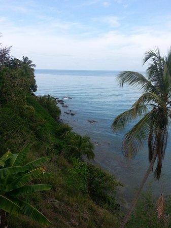 Hostel Bahia Del Paraiso: view from the hostel balcony