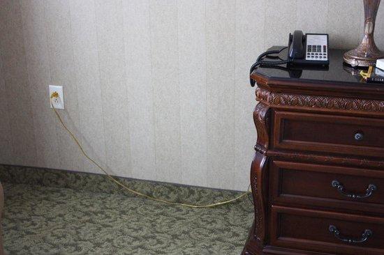 Carnegie Hotel: Dresser with Plug