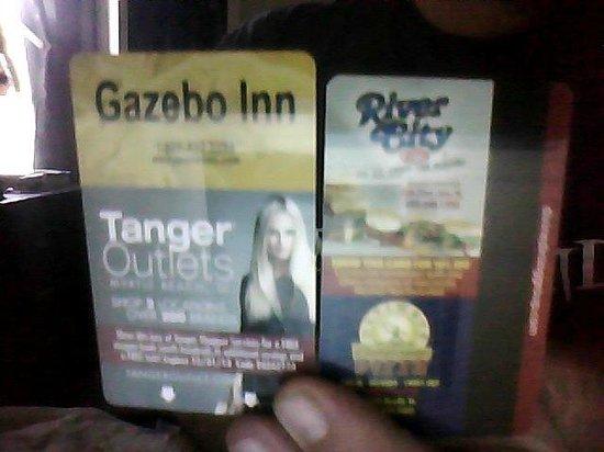 Gazebo Inn Ocean Front: Your cards
