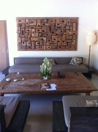 Nyaman Villas : Lounge Area