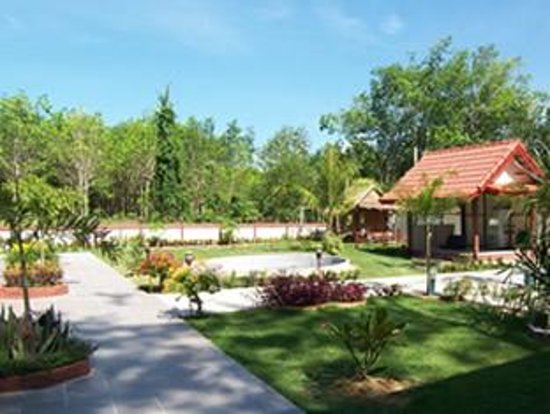 Phuket Airport 24/7 Hotel: hotel Garden