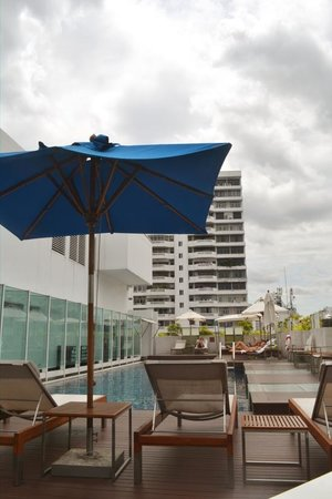 Dream Bangkok: The rooftop pool