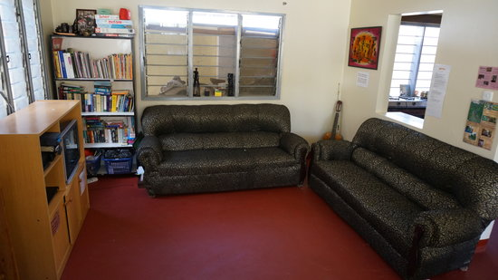 Ujamaa Hostel: Lounge Room