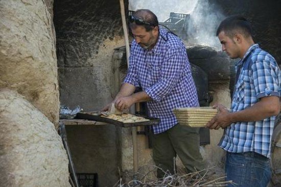 Queens Cave Cappadocia : Traditional Bread for Breakfast