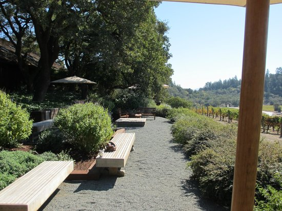 Joseph Phelps Vineyards: Joseph Phelps Terrace Tasting