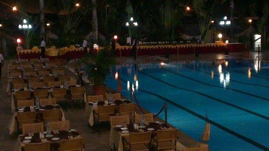Atlantic Palace Hotel: Buffet