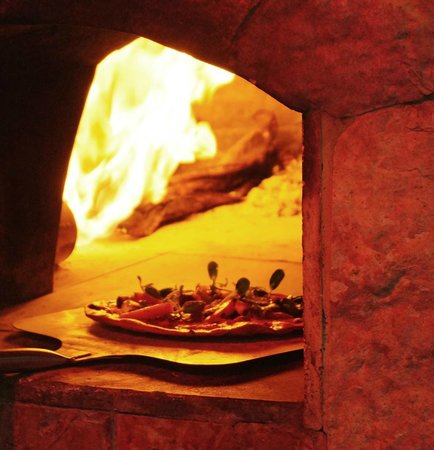 Sandzibar: Pizza oven