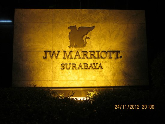 JW Marriott Hotel Surabaya: Main Hotel Name