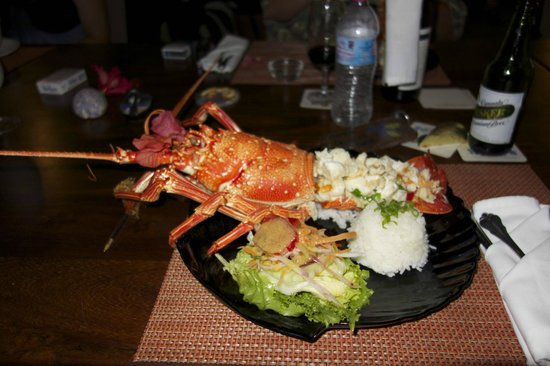 Coral Quays Fish & Dive Resort: Dinner